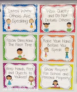 Classroom Rules - Mrs. Nelson's Classroom Management Resources
