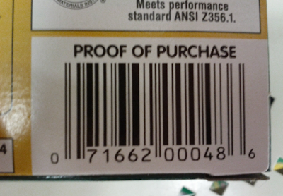 Shopkick Barcodes Checkpoints Barcodes