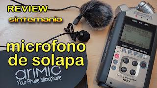 Review Lavalier micrófono de solapa omnidireccional.Consigue buen sonido en tus grabaciones.
