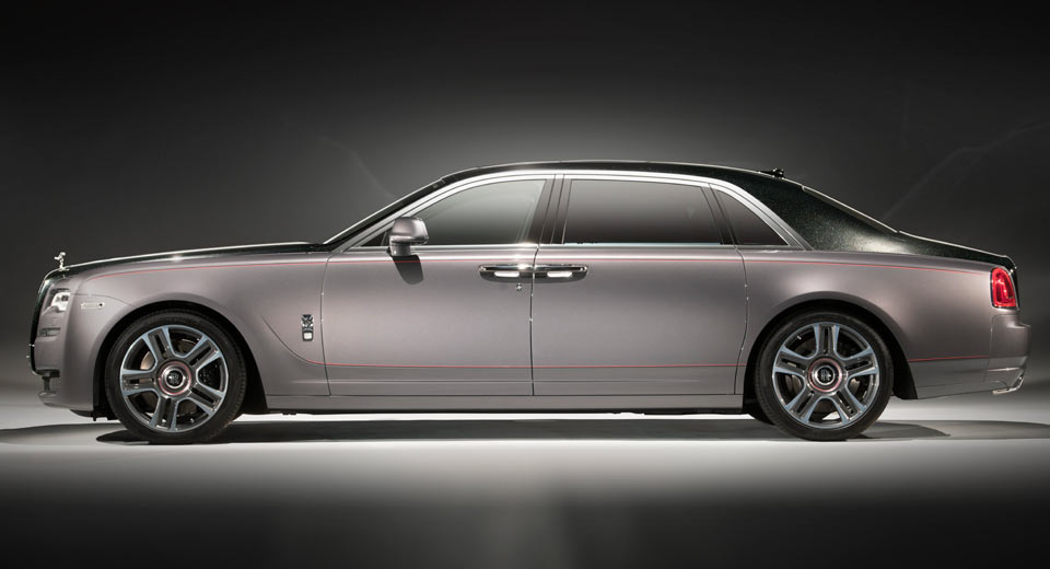 Rolls-Royce Reveals Bespoke Ghost with World's First Diamond Paint