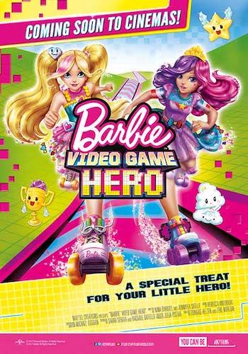 Barbie Video Game Hero 2017 Dual Audio Hindi Full Movie Download