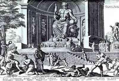 Seven-Wonders-of-the-Ancient-World-Statue-of-Zeus-عجائب-الدنيا-السبع-تمثال-زيوس