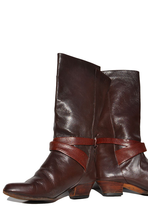 b04cb752513b1 goodbye heart vintage: 1980s Vintage Slouch Pirate Boots. Womens ...