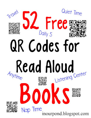 FREE QR Codes for Read Aloud Picure Books from In Our Pond