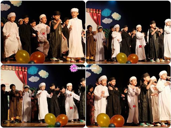 Nabihan & Little Caliphs Grand Ihtifal