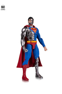 NYCC 2018 DC Collectibles DC Essentials Cyborg Superman action figure