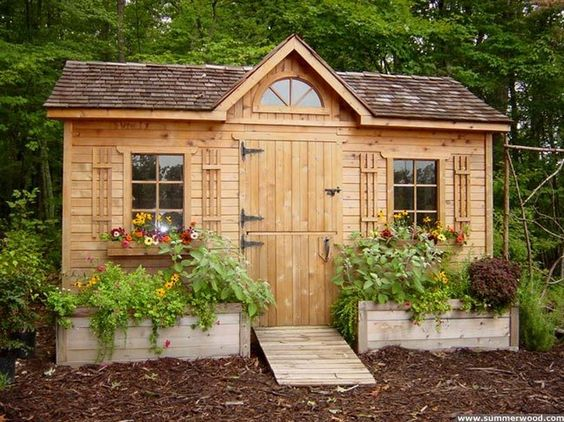 Garden Shed, Artistic Oasis