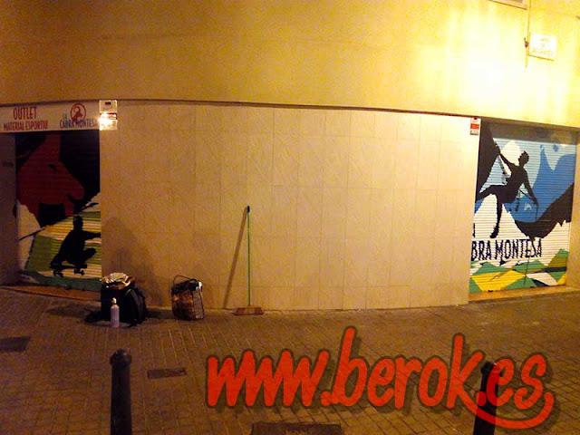 Graffiti persianas Sant Andreu