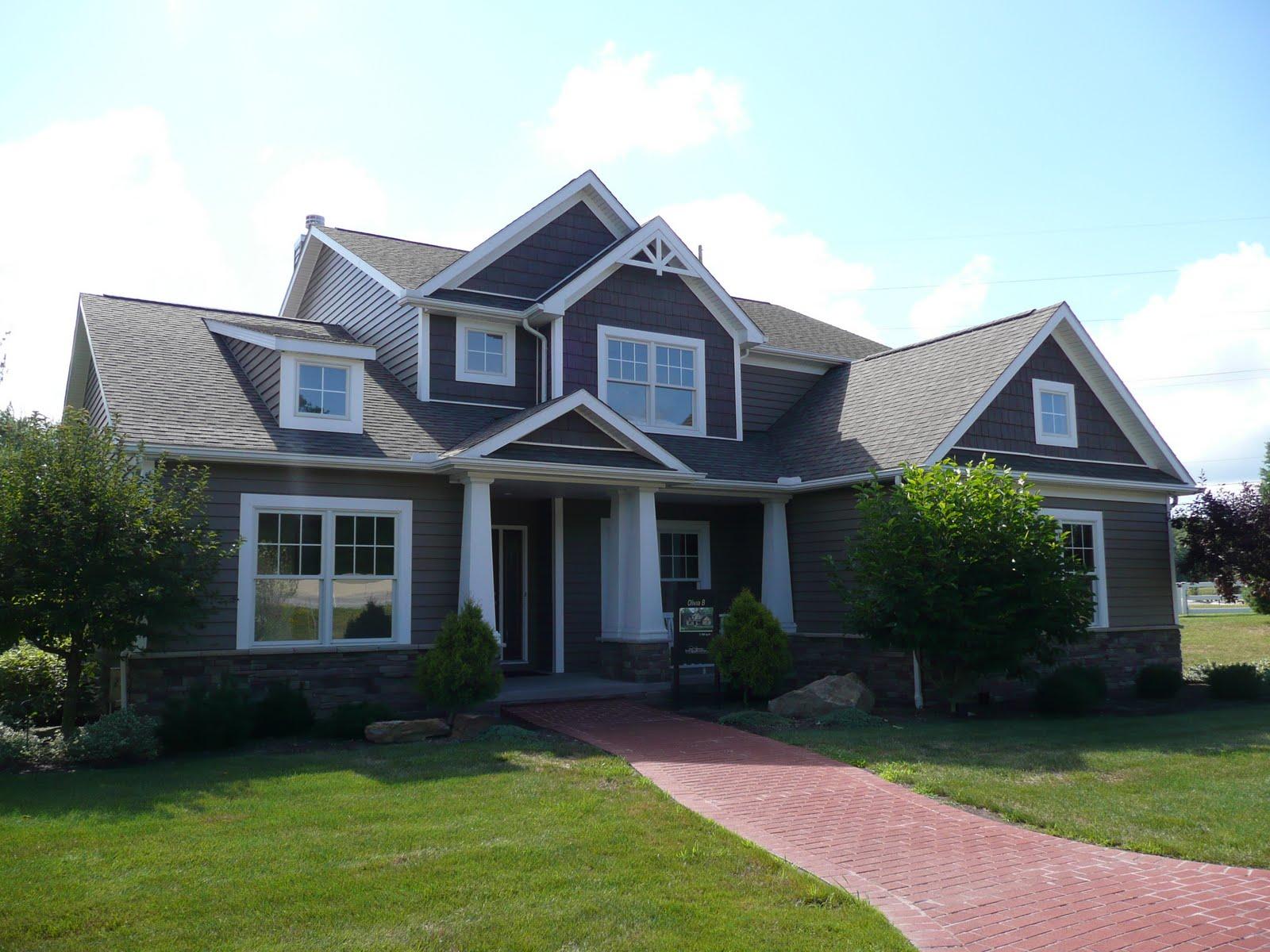 De jong dream house exterior - Houses with white trim ...
