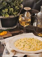 """Risotto de queso cheddar de Nigella Lawson y """"Directas al grano"""" -cocinando-con-neus"""