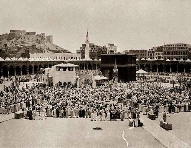 Masjidil Haram Suatu Ketika Dulu