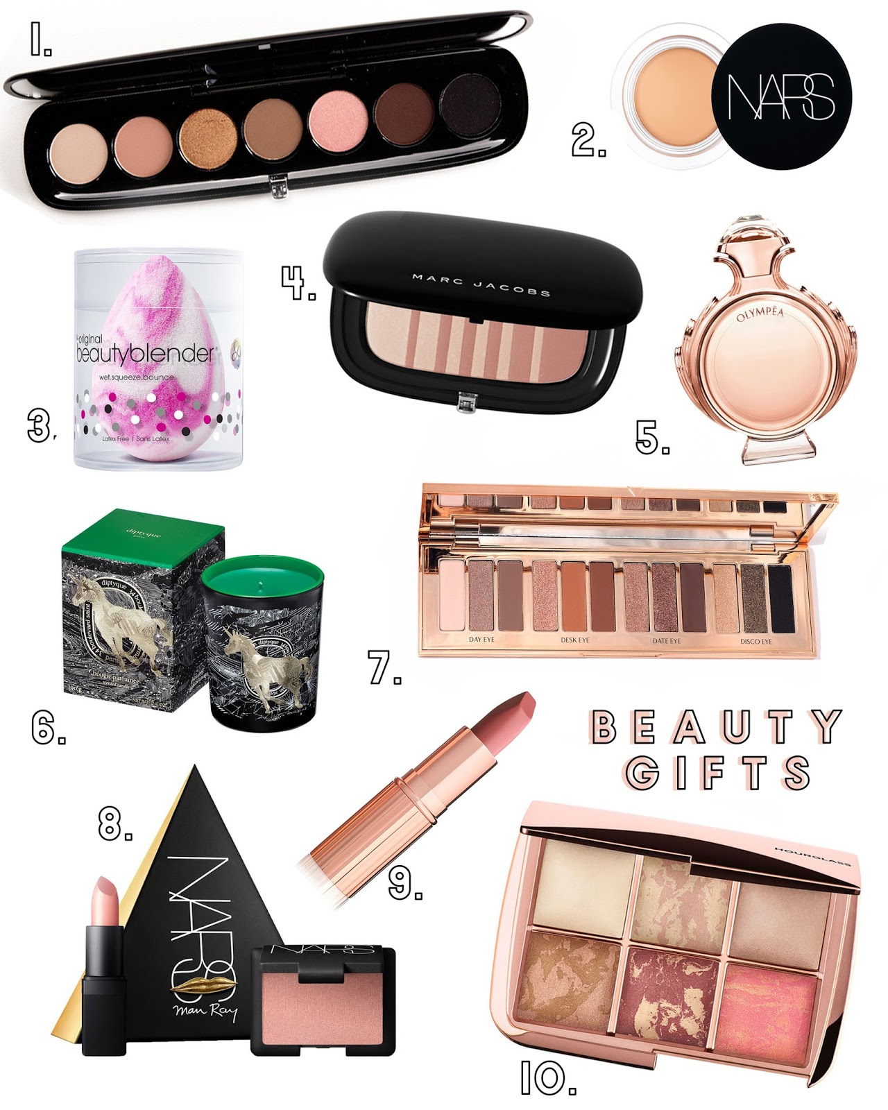 Beauty Gift Guide 2017