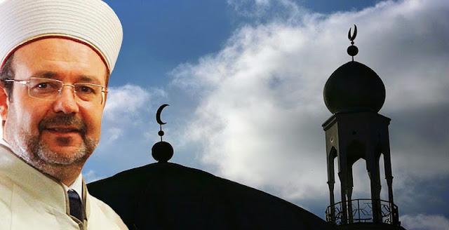 Ισλαμικό τόξο προωθεί ο αρχιμουφτής της Τουρκίας στα βόρεια σύνορα της Ελλάδας