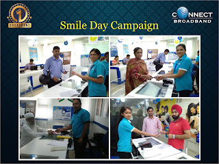 Connect kick-starts 'Smile Day' campaign to delight customers