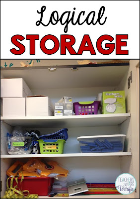 How to organize materials for STEM is the focus! Read more about storing things logically and keeping an inventory on this great blog post!