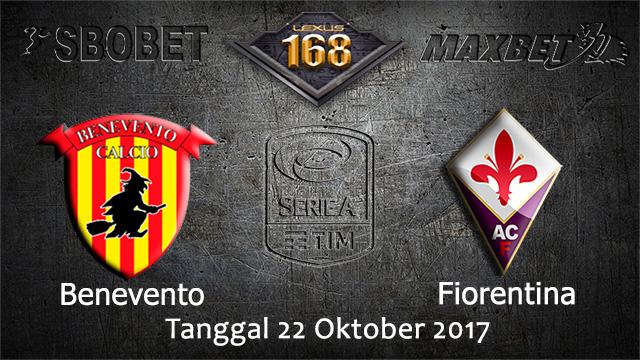 PREDIKSIBOLA - PREDIKSI TARUHAN BOLA BENEVENTO VS FIORENTINA 22 OCTOBER 2017 (SERIE A)