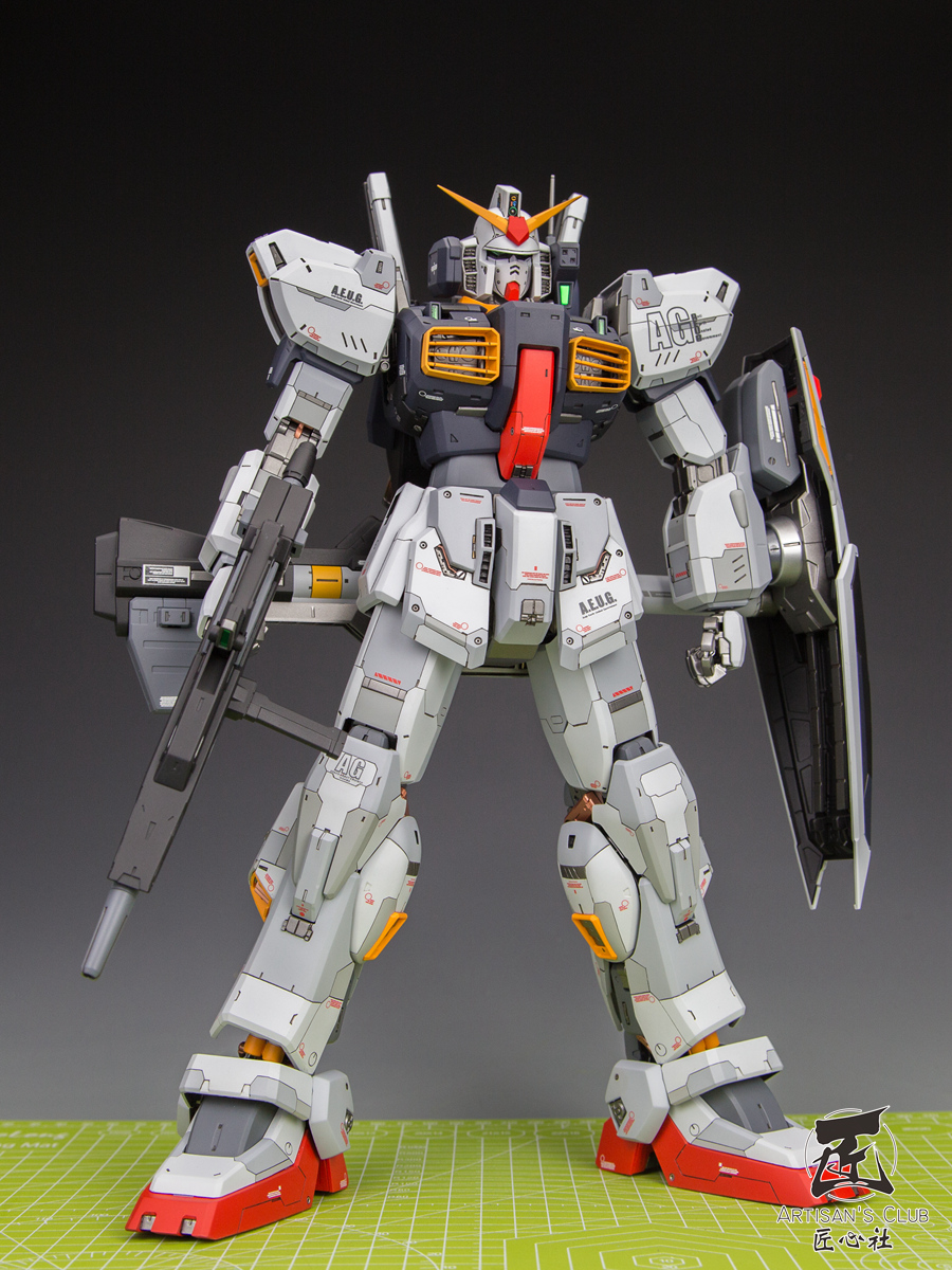 reputable site 470f1 e77a9 PG 1/60 Gundam Mk-II [AEUG] - Custom Built
