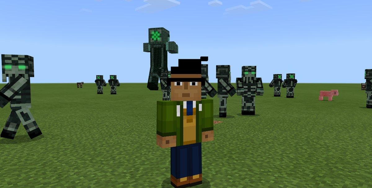 minecraft pe skin packs
