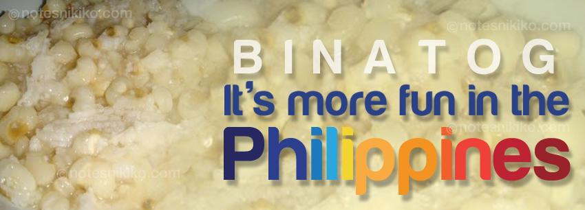 Binatog - It's more fun in the Philippines