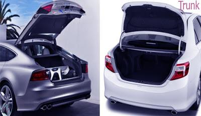 trunk, car trunk