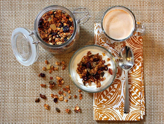 pumpkin quinoa granola