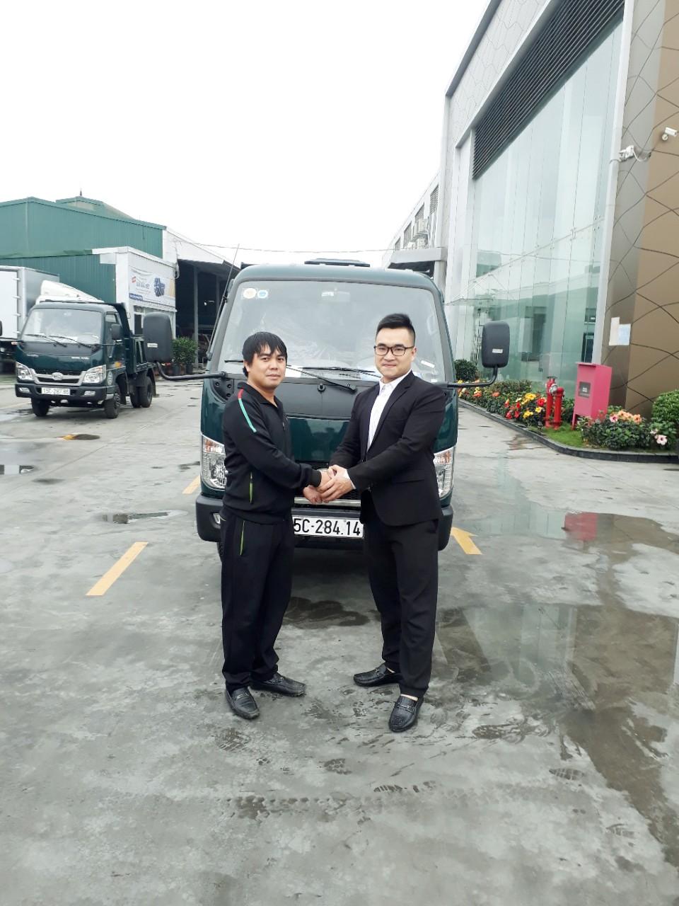 Xe ben Thaco Fld250D tải trọng 2.5 tấn tại Hải Phòng giá tốt hỗ trợ trả góp