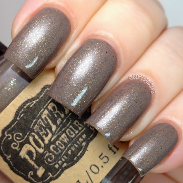 Poetry Cowgirl Nail Polish-Old Wooden Fence