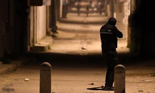 الليلة الثالثة من الإضطرابات في تونس مع إعتقال المئات
