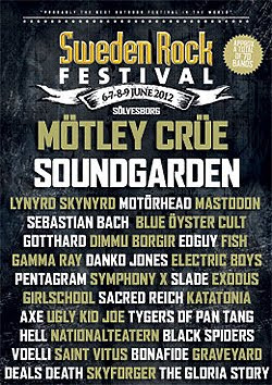 Soundgarden, King Diamond o Slade al Sweden Rock Festival 2012