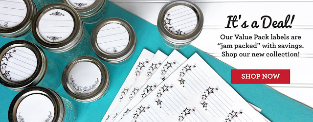 Affordable Value Pack Canning Labels | CanningCrafts.com
