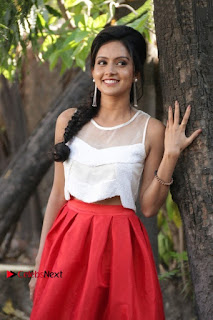 Actress Mahima Nambiar Latest Stills in White Top and Red Skirt at Kuttram 23 Movie Press Meet  0013.jpg