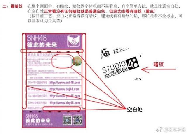 pemalsuan tiket snh48