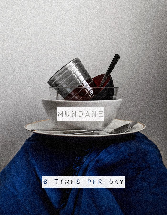 photo of the word mundane by Kreetta Järvenpää www.gretchengretchen.com