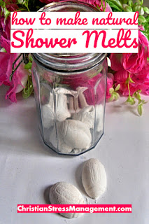 How to make natural shower steamers