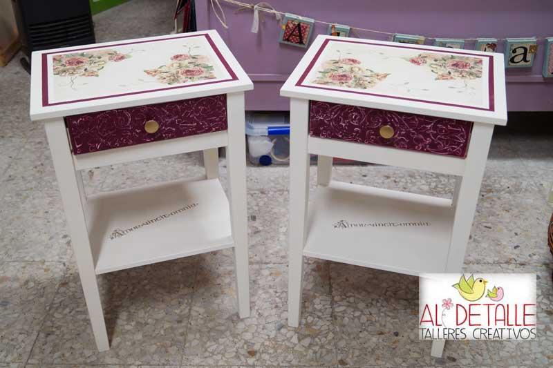 Rosabel manualidades muebles decorados for Muebles zamorano jose mari