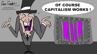 Anti-Capitalism cartoon satire political anti-capitalist