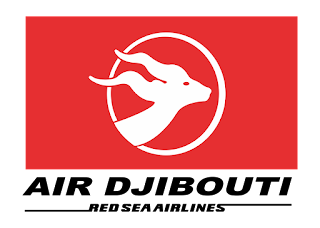 Air Djibouti Red Sea Airlines Logo Vector