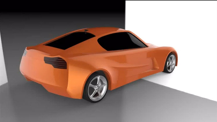 Drawing And Graphics Car Design With Nx8 Concept Car To Car Modeling 3d