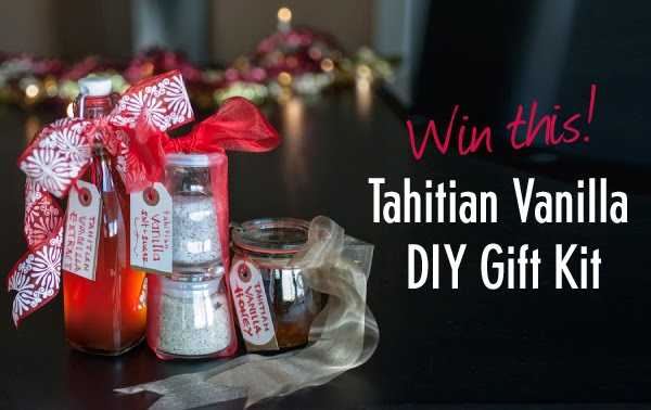 Win a Tahitian Vanilla DIY Gift Kit