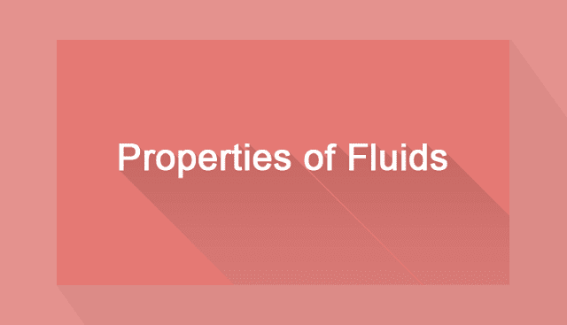 Properties of fluids