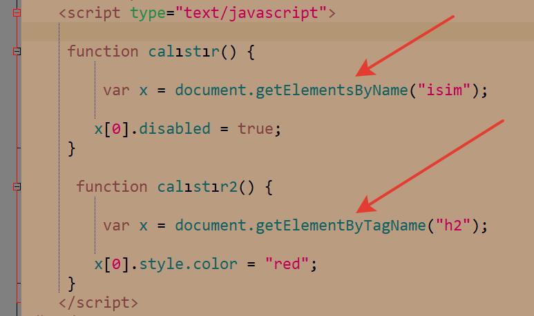 javascript byname kullanımı