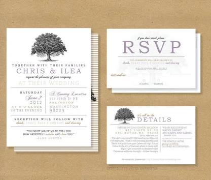 What is the actual meaning of the RSVP on a wedding invitation