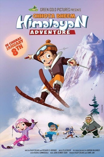 Chhota Bheem Himalayan Adventure 2016 Hindi 480p DVDRip 300mb