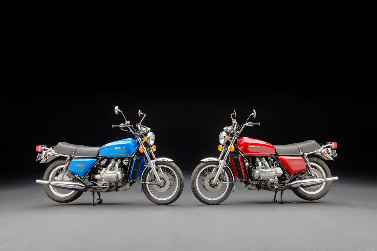 Automotiveblogz Honda Gold Wing Motorcycles History Photos