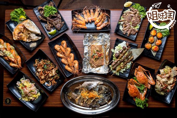 這餐廳週年慶比百貨公司還殺,點泰國蝦送生啤,還送生蠔跟哀鳳11-六少爺海鮮燒烤