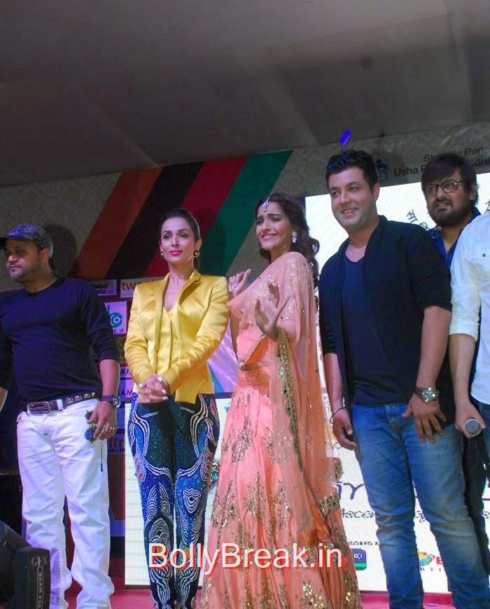 Malaika Arora Khan, Sonam Kapoor, Varun Sharma, Sonam Kapoor, Maliaka Arora Khan Hot Pics At 'Dolly Ki Doli' Music Launch