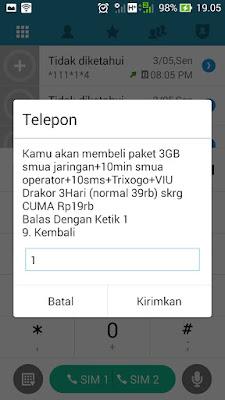ketentuan paket internet tri 3 murah 3gb 3g 19 ribu