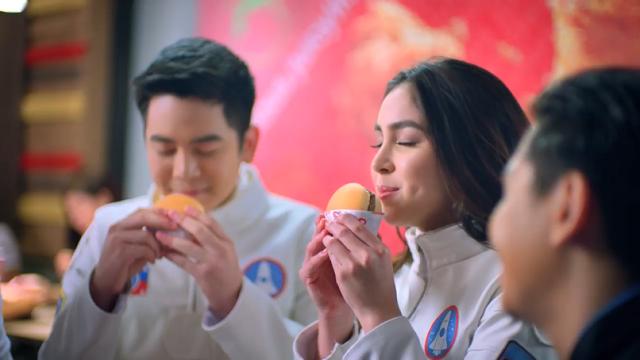 Julia Barretto, Joshua Garcia are Jollibee's Newest Yum Burger Endorsers