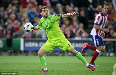 Thủ môn Iker Casillas
