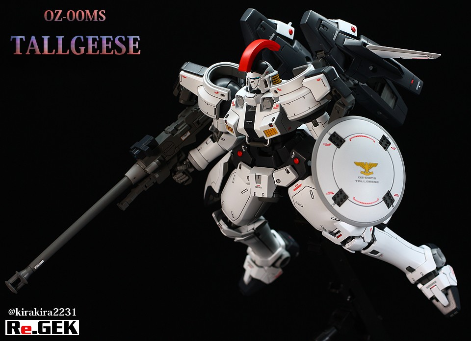 Painted Build: MG 1/100 OZ-00MS Tallgeese [EW]